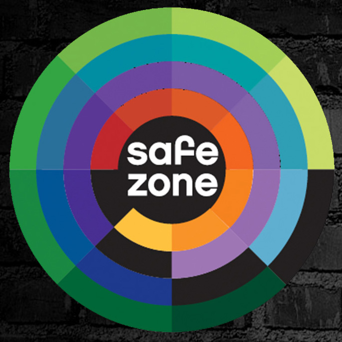 Safe Zone Training graphic