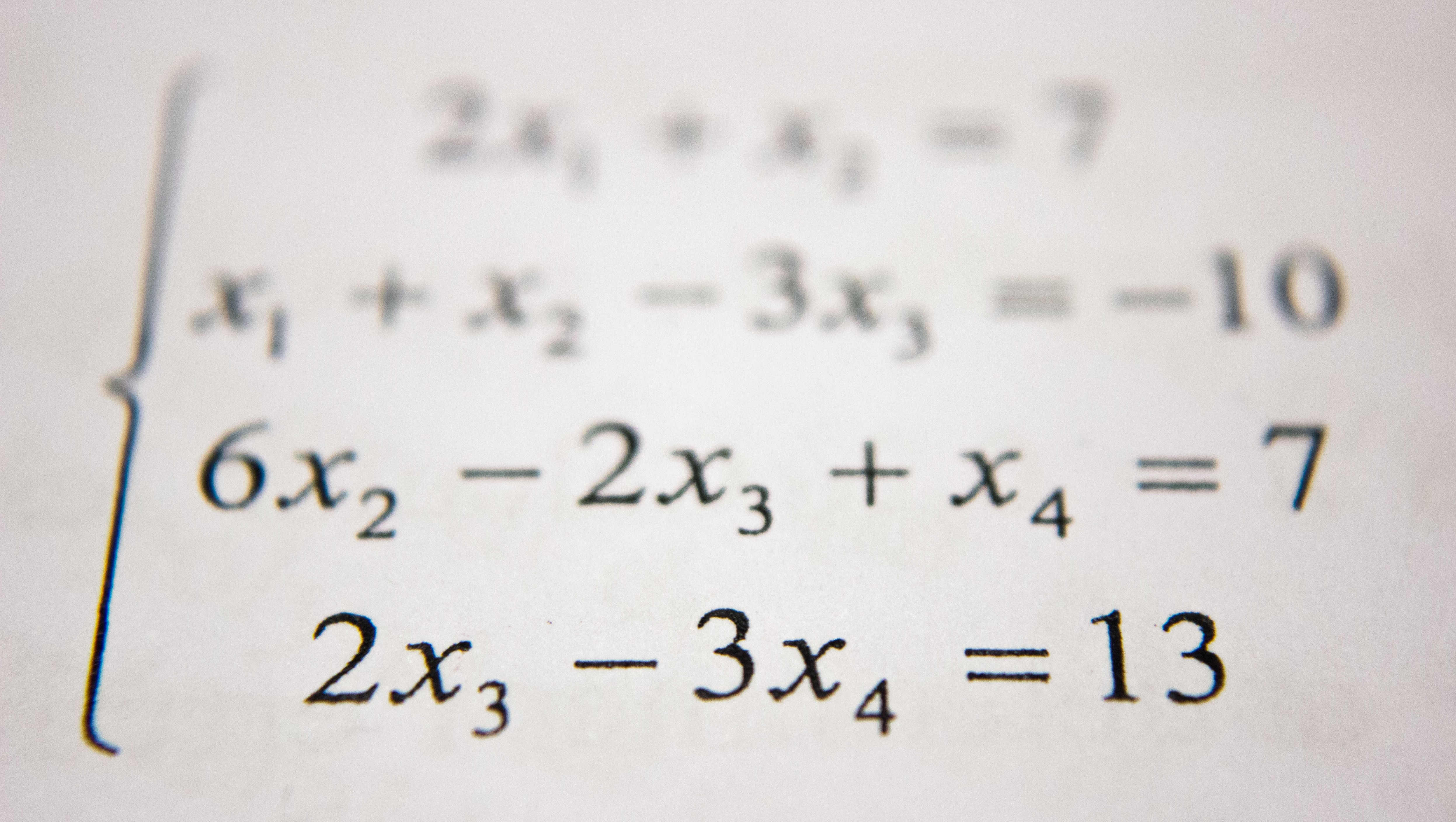 photo of mathematical forumula
