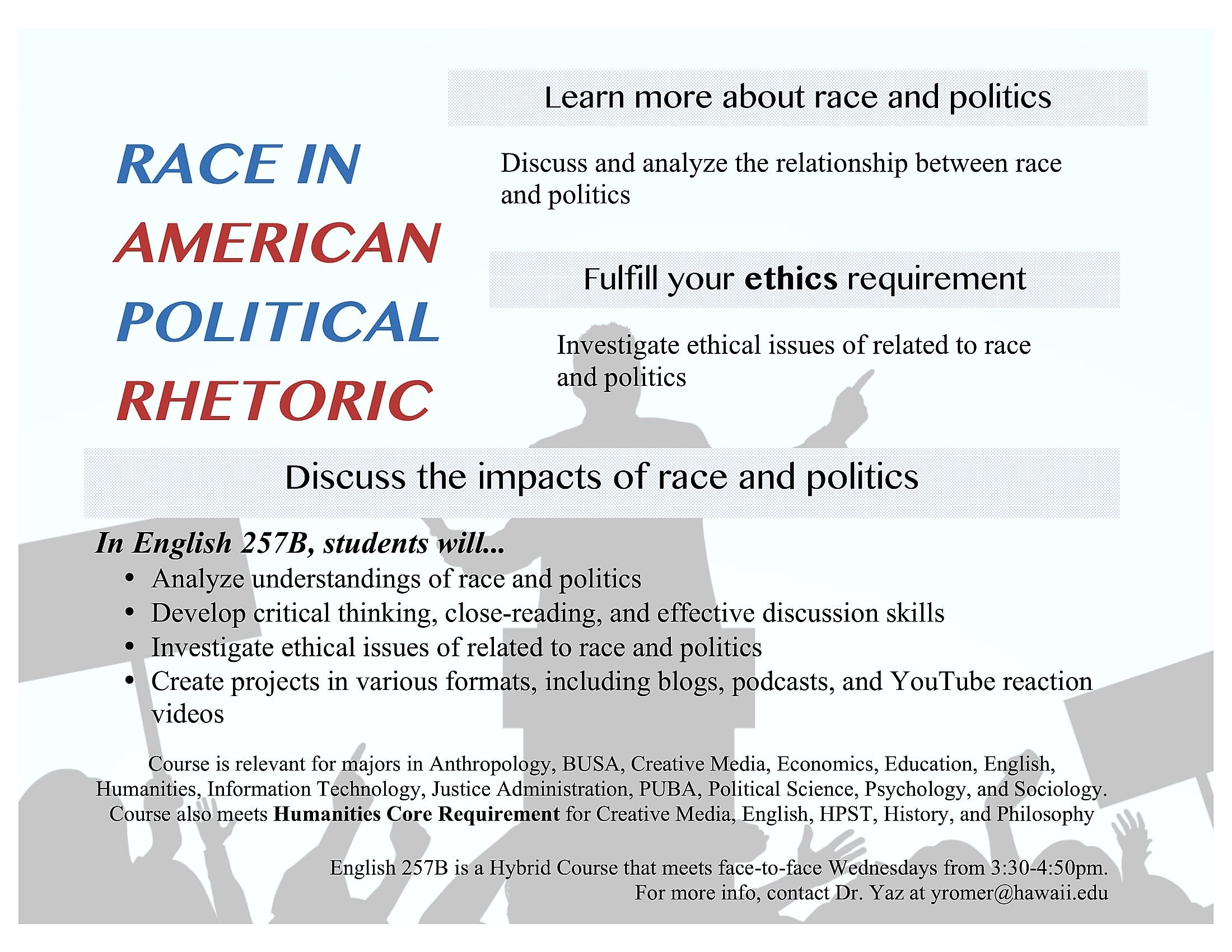 how important is race in us politics Americans have widely different views of racial tension -- and who's to  african- americans and immigrants face significant discrimination in.