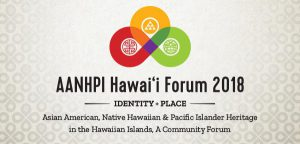 AANHPI Forum logo and title