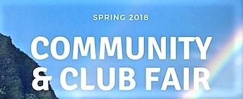 Words Spring 2018 Community & Club Fair