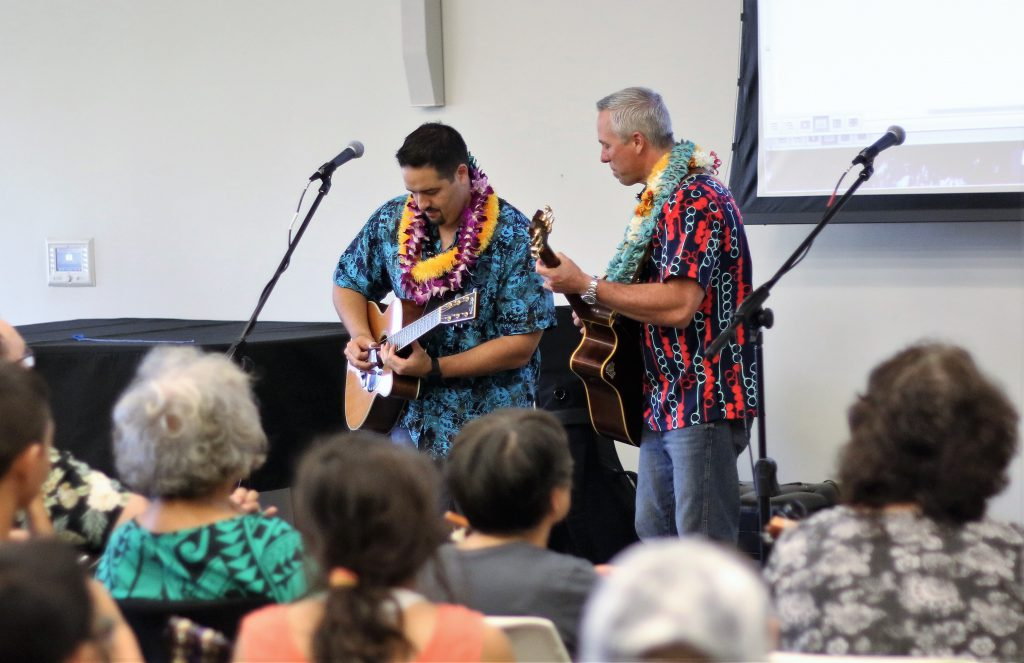 Kamuela Kimokeo and Bobby Moderow will appear at tomorrow's Hoʻokani Kulanui