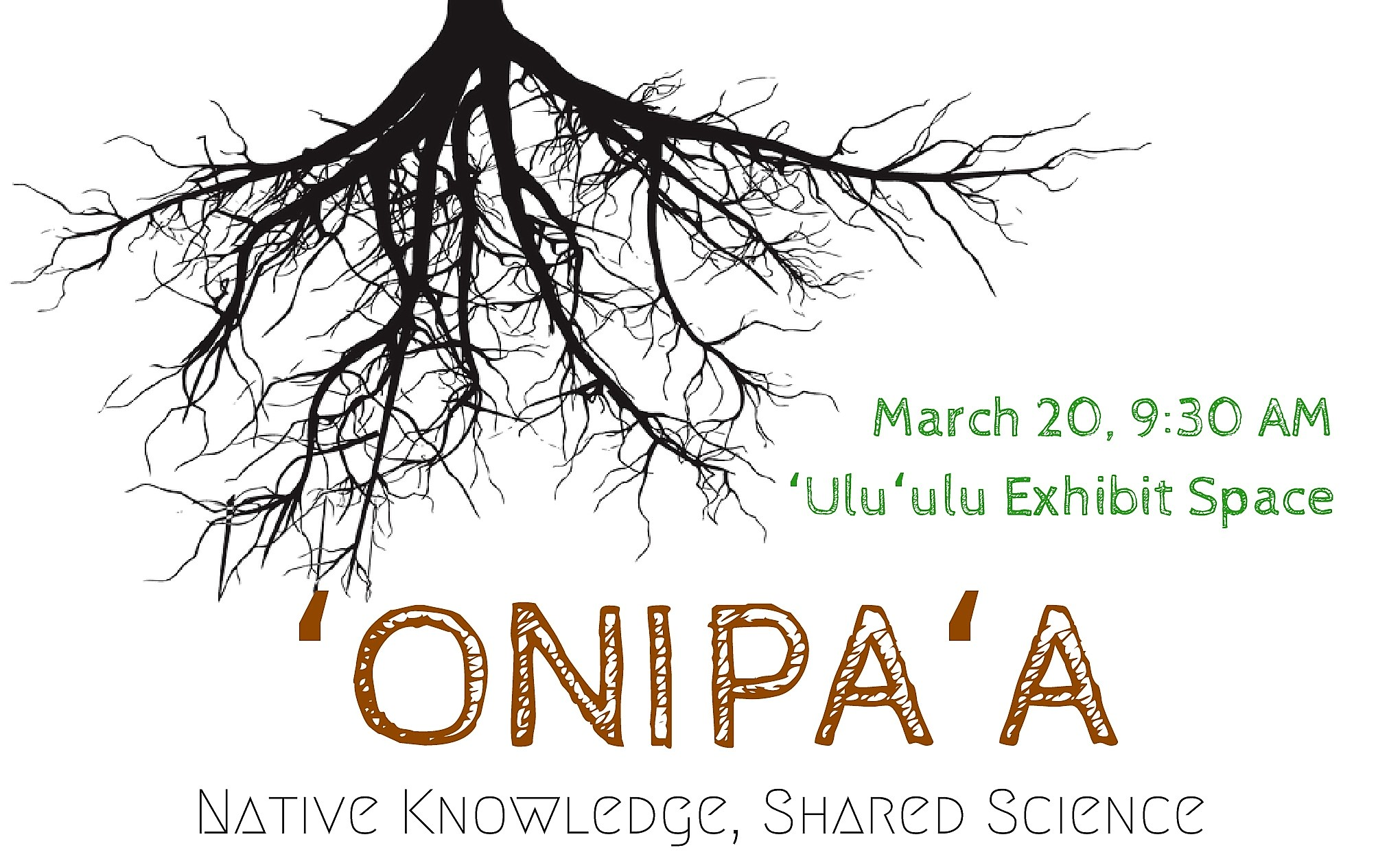 Onipaa Roots of Wisdom flyer with information similar to what is in the article