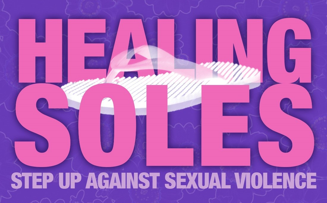 Flyer for Healing Soles event