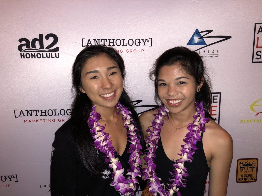 photo of shining star scholarship winners: Shining Stars: Rachel Lugo, 2018 winner (left) and Jess Manapul, 2017 winner