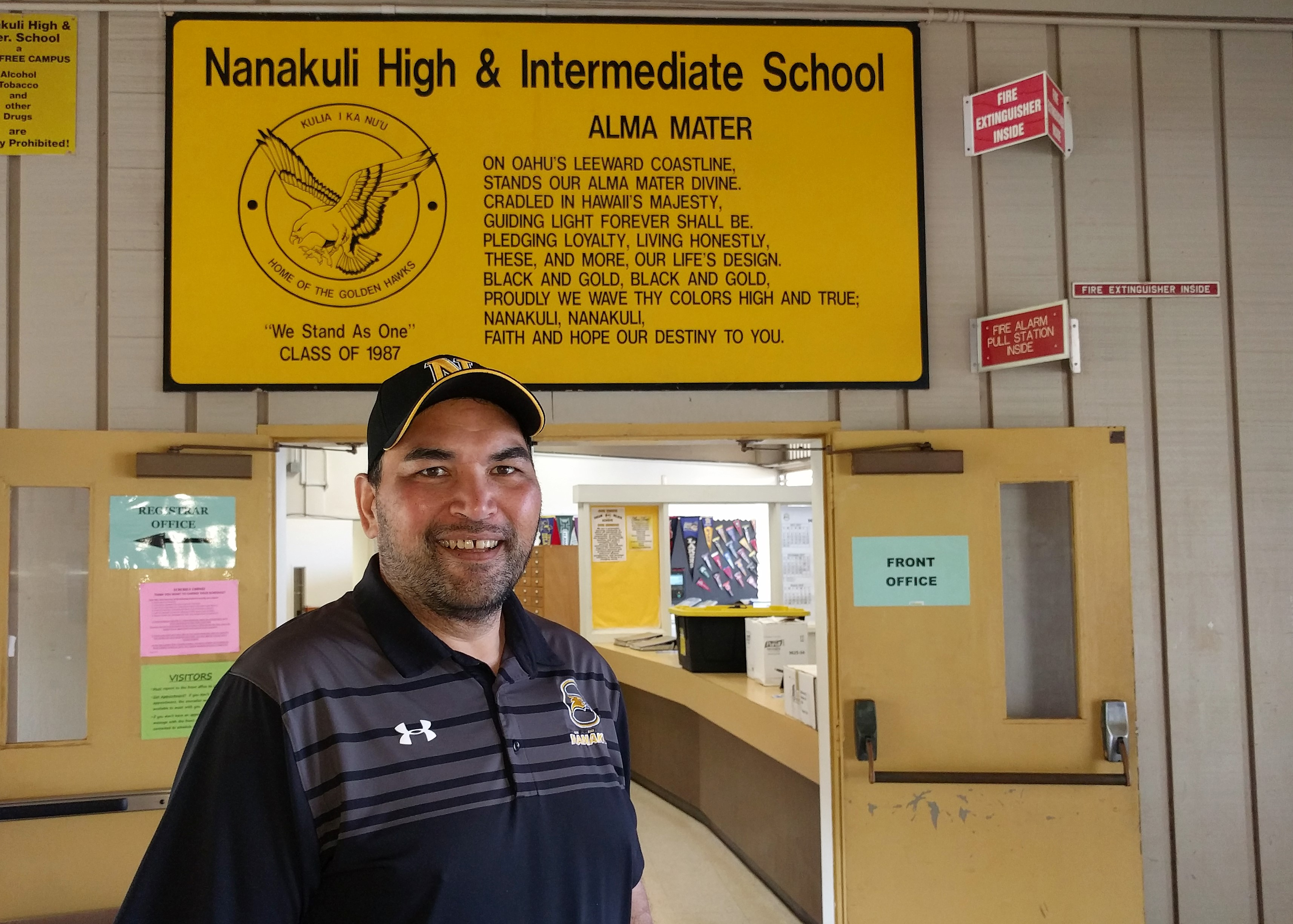 photo of Nanakuli High principal Darin Pilialoha