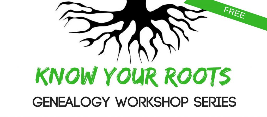 illustration of tree roots and words know your roots