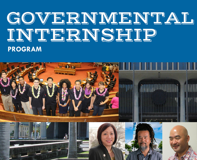 Flyer for Governmental Internship Program
