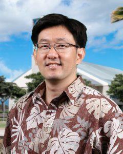 Portrait photograph of Dr. Keith Sakuda