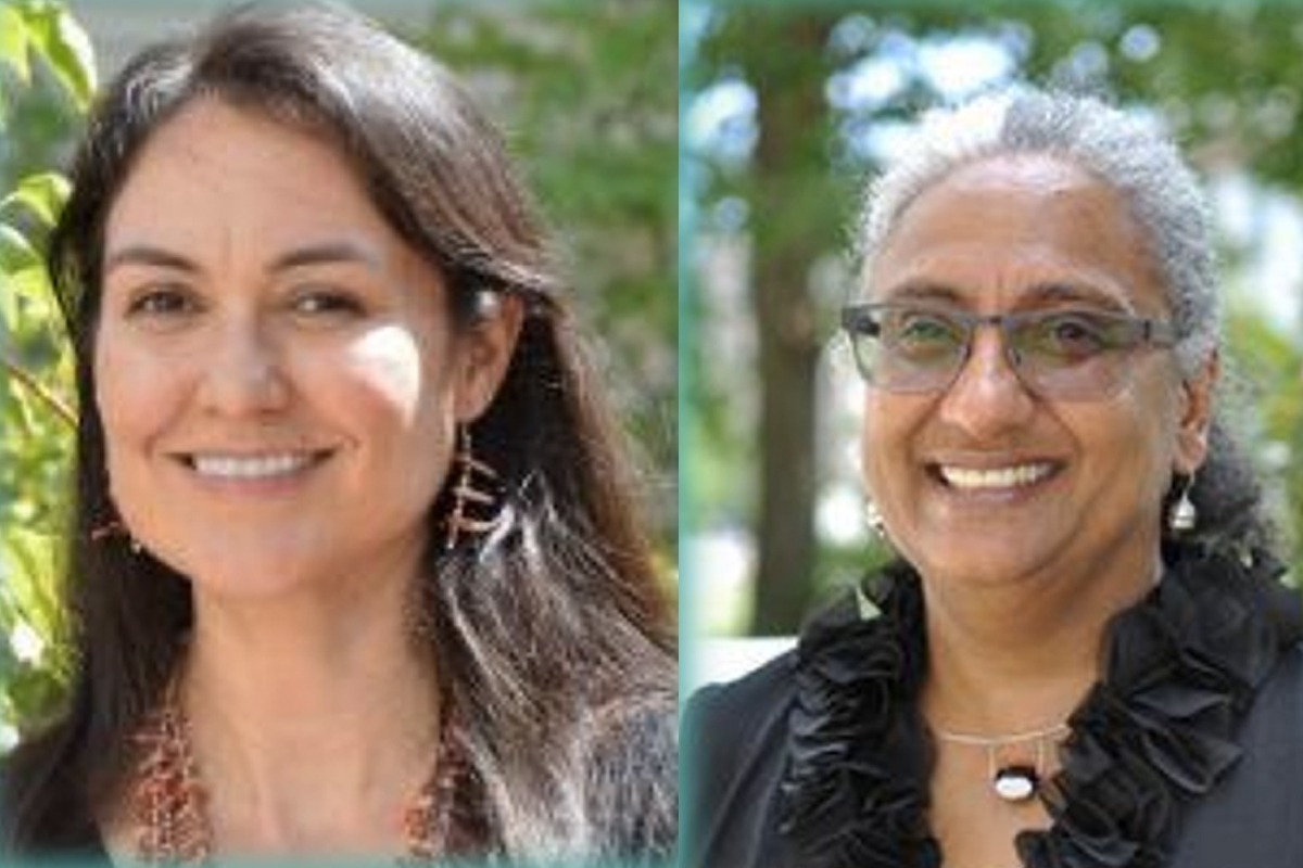 Faculty from Harvard will present on October 30. On the left it is Shelly Lowe, on the right is Elizabeth Solomon.