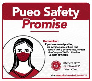 Pueo Safety Promise card