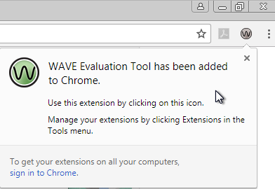 Installing and Using WAVE for Google Chrome – UHWO IT Help Desk