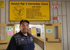photo of Nanakuli High principal Darin Pilialoha