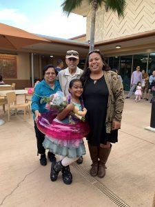 Iona Kaai and family.