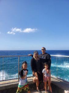 Rhenessa Lynne Cabudol and family.