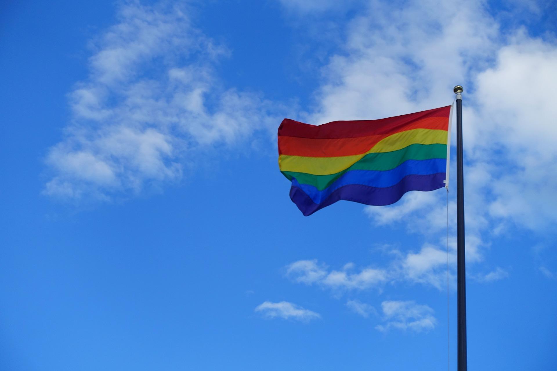 Image of rainbow flag