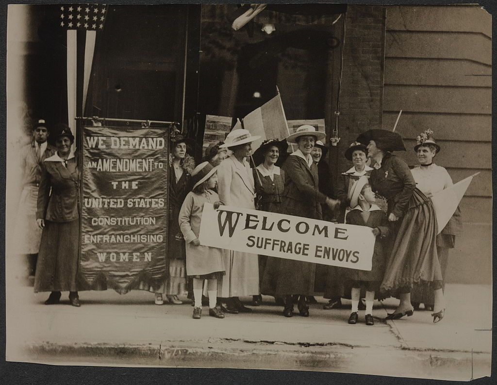 Suffrage Envoys From San Francisco