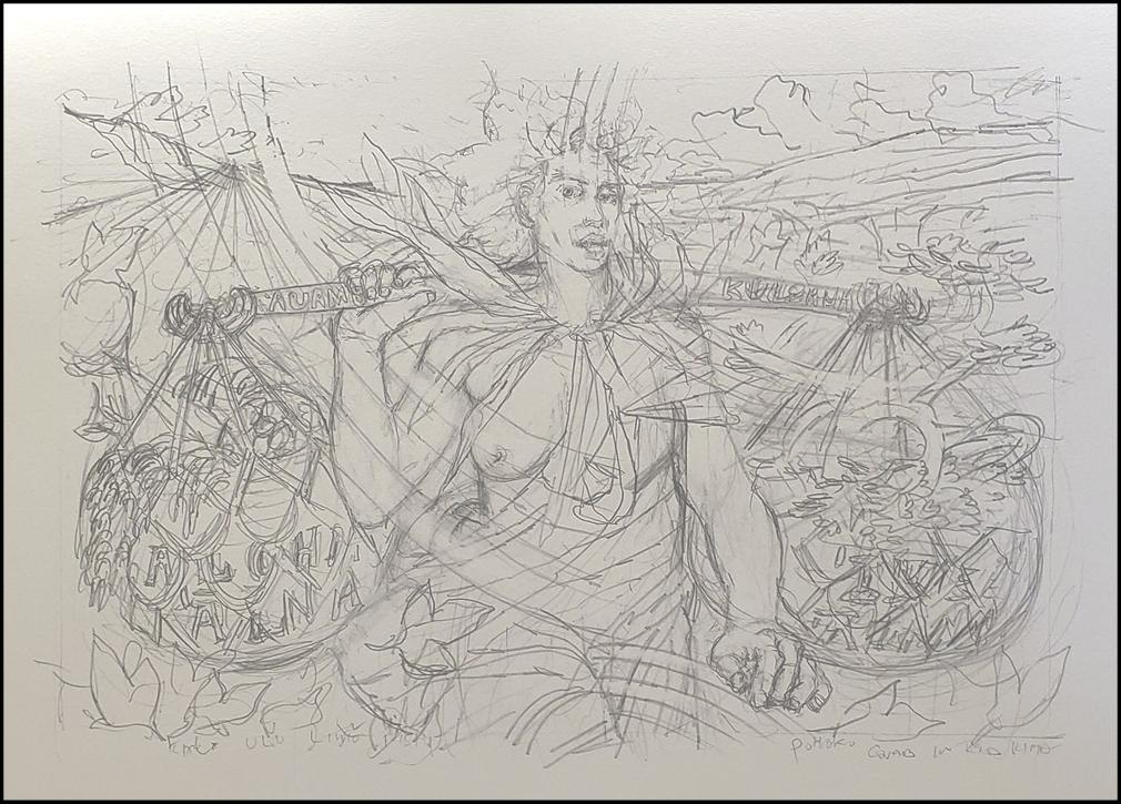 sketch of auamo