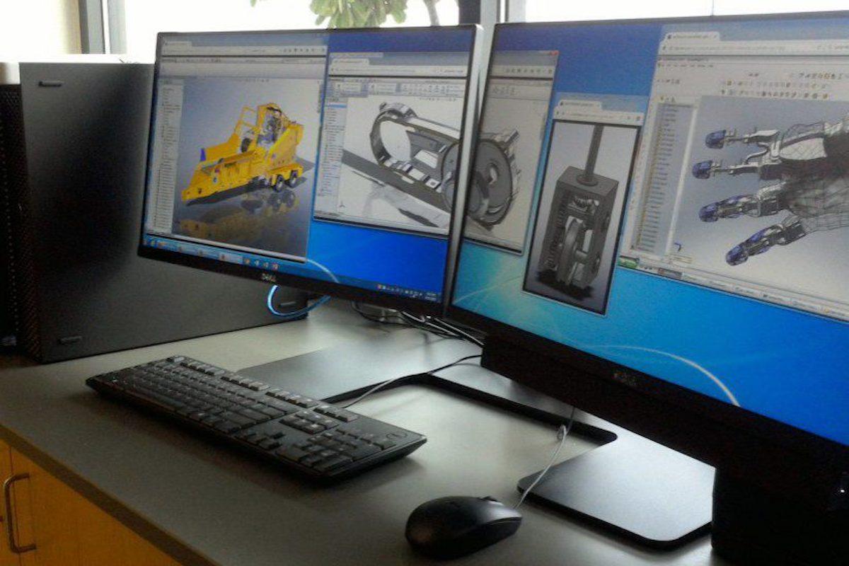 CAD-CAM Workstation