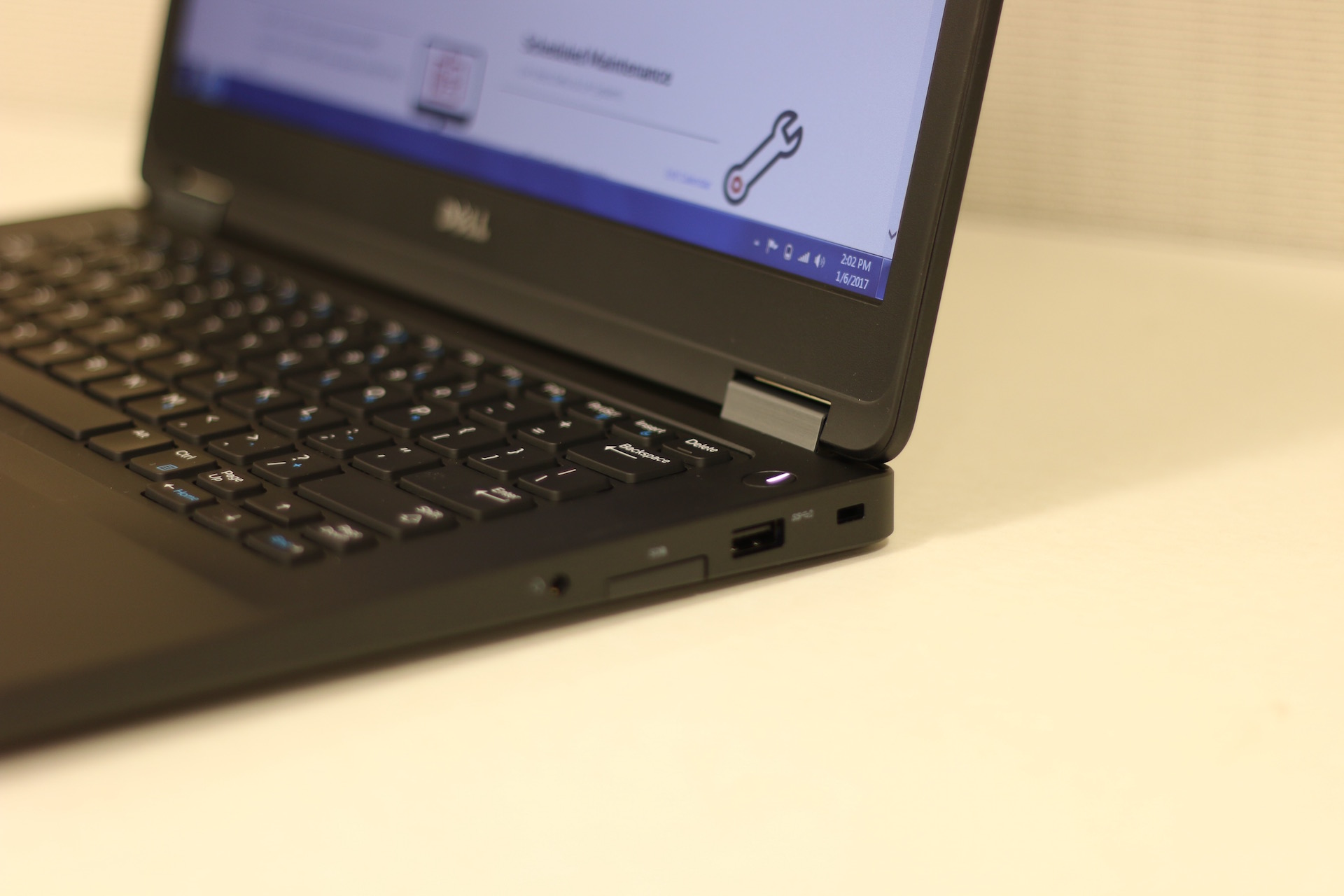 An Open Laptop With A Web Page Up.