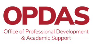 Office of Professional Development and Academic Support logo