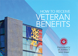 Cover of the Veterans Benefits brochure.
