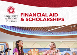 Cover of Financial Aid and Scholarships Brochure.