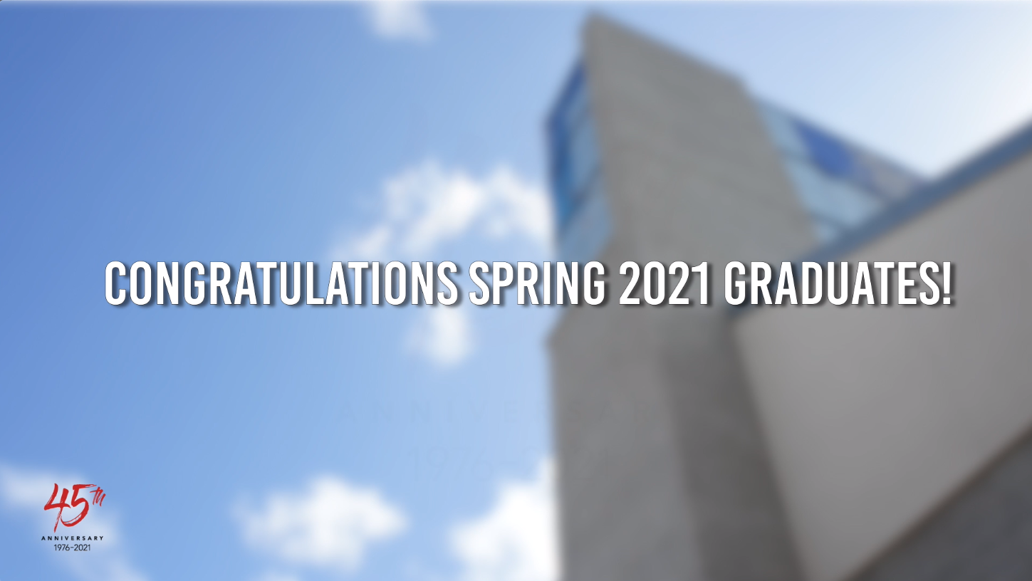 Spring 2021 Commencement Video Thumbnail